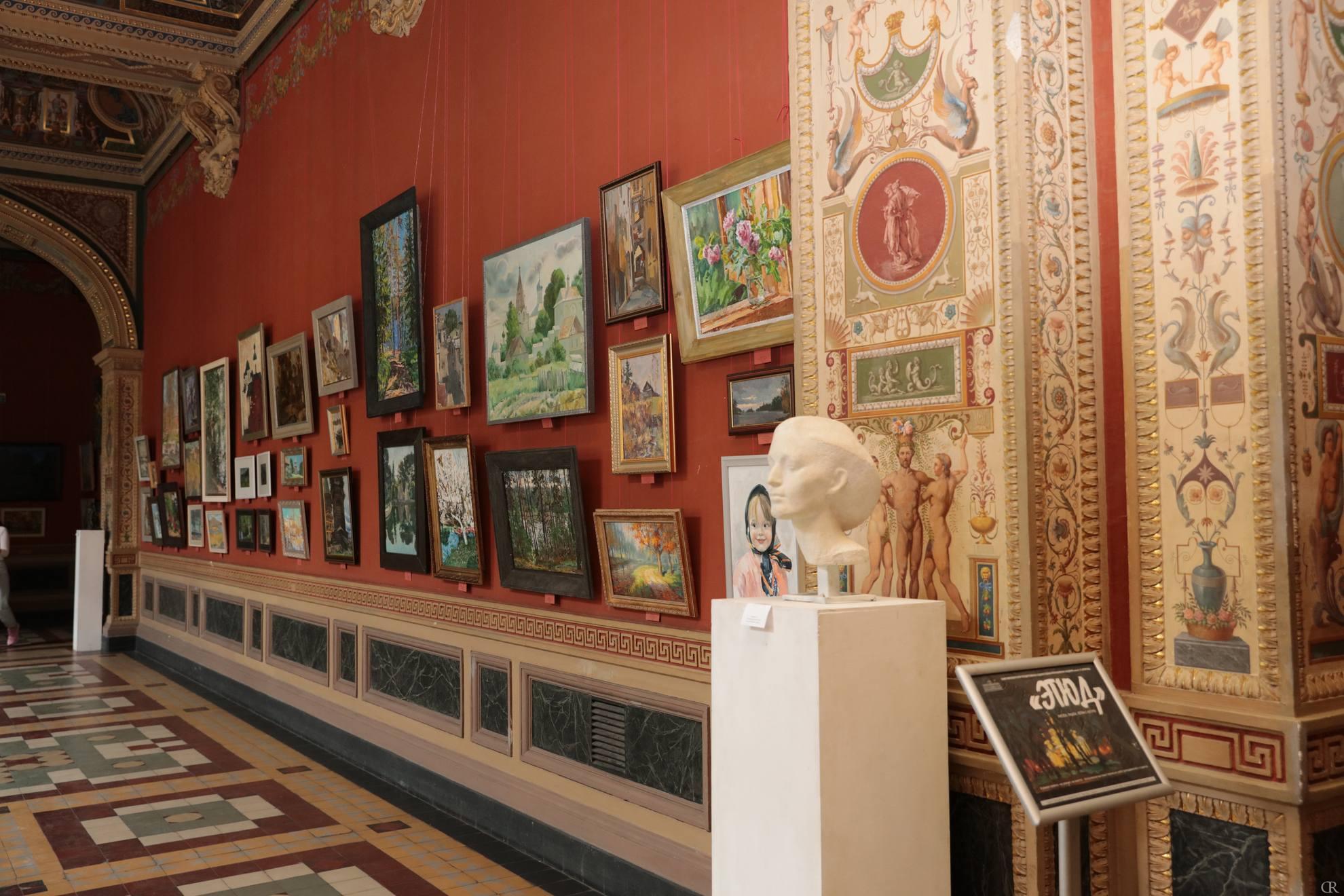 Межвузовская выставка «Этюд. Рисуем, пишем, лепим с натуры»