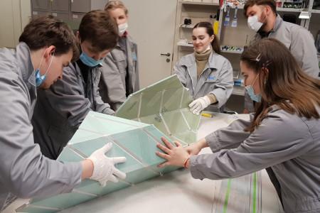 Компания KNAUF провела семинары для студентов кафедры средового дизайна