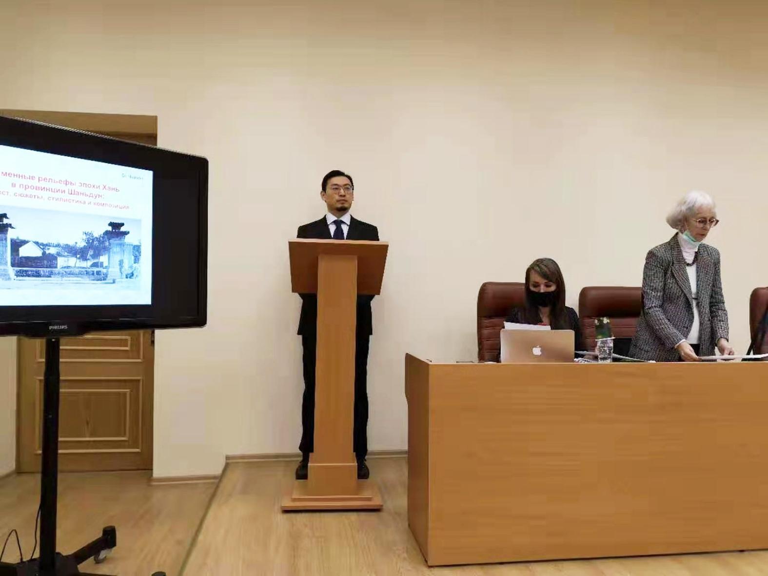 Аспирант Академии Штиглица Би Чжичэн успешно защитил кандидатскую диссертацию