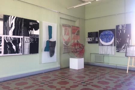 Выставка арт-объектов «Текстильные инсталляции»