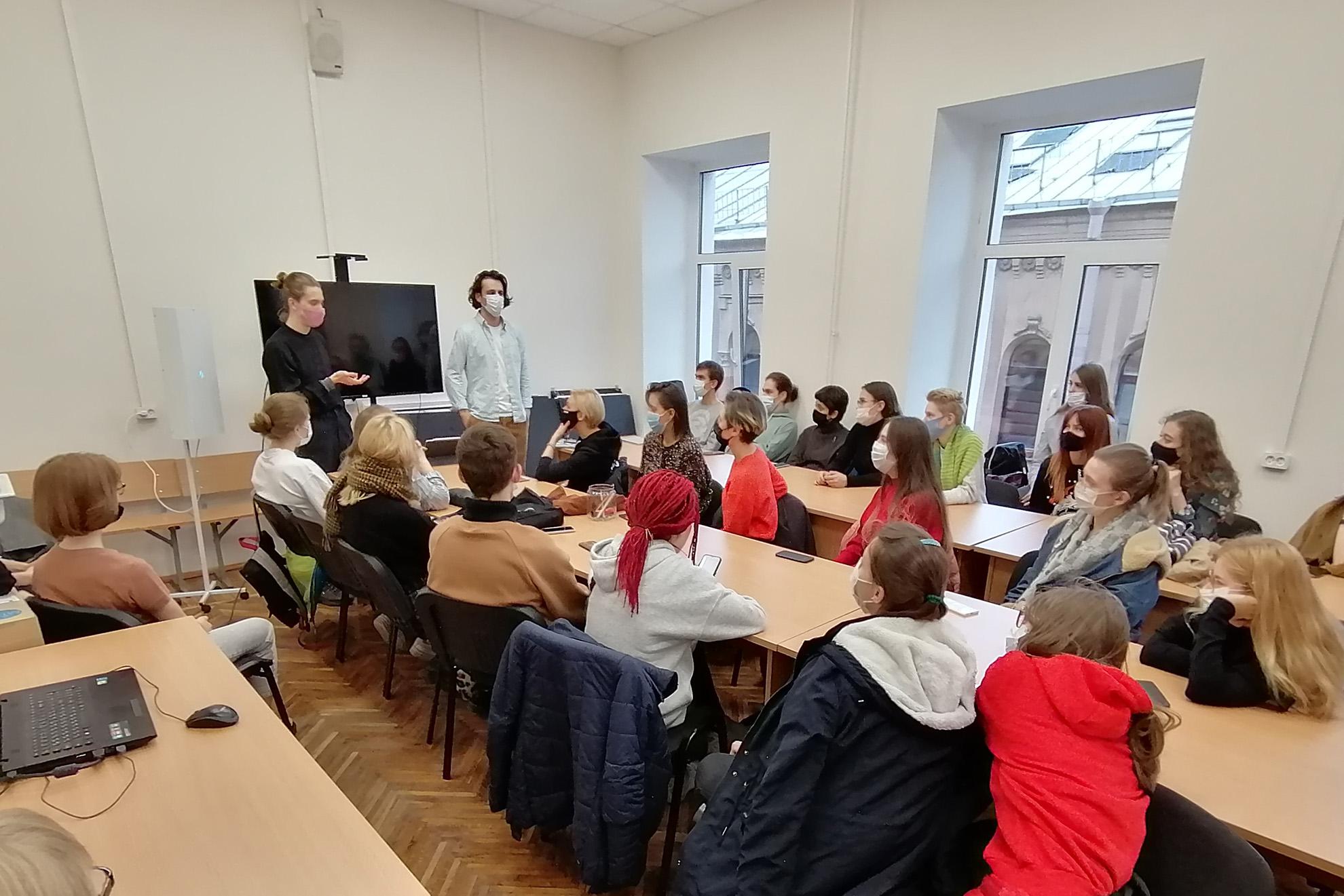 Встреча с представителями студии «Союзмультфильм»