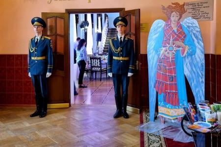 Студенты Академии Штиглица провели мастер-класс на праздновании юбилея Санкт-Петербургского университета ГПС МЧС России