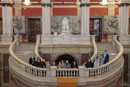 Академию Штиглица посетили представители высшего уровня резерва управленческих кадров, участвующие в реализации национального проекта «Наука и Университеты»