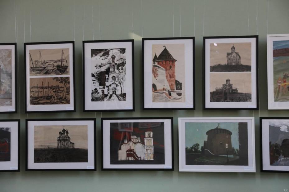 Выставка по итогам пленэрной практики «Pro Новгород»