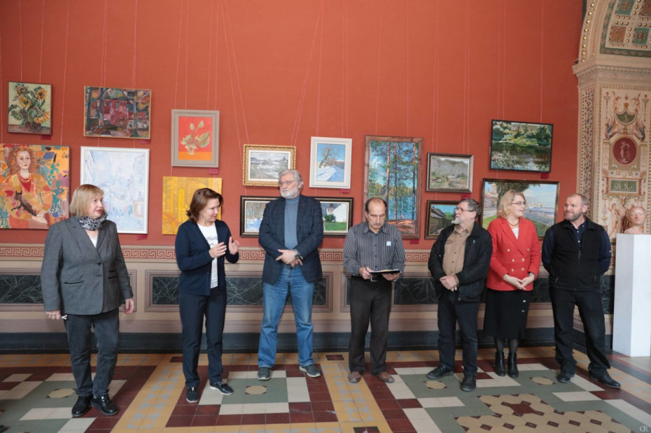Открытие III Межвузовской выставки «Этюд. Рисуем, пишем, лепим с натуры»