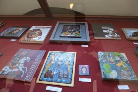 Выставка и Круглый стол «Мастера эмали художественно-промышленных академий барона Штиглица и графа Строганова»
