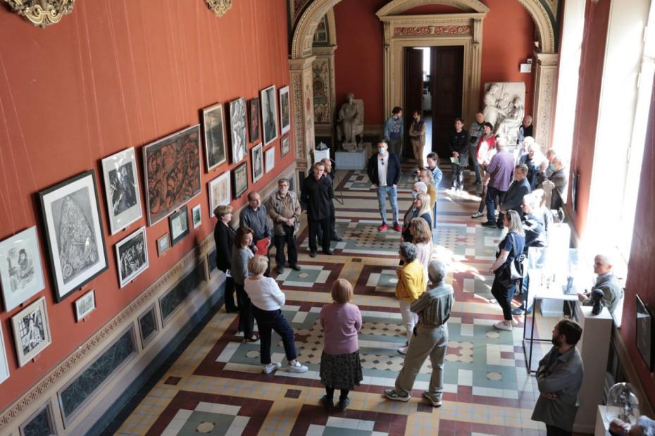 Межвузовская выставка «Совершенство формы. Рисунок и скульптура»  в рамках проекта «Мы разные - мы вместе. Учитель-ученик»
