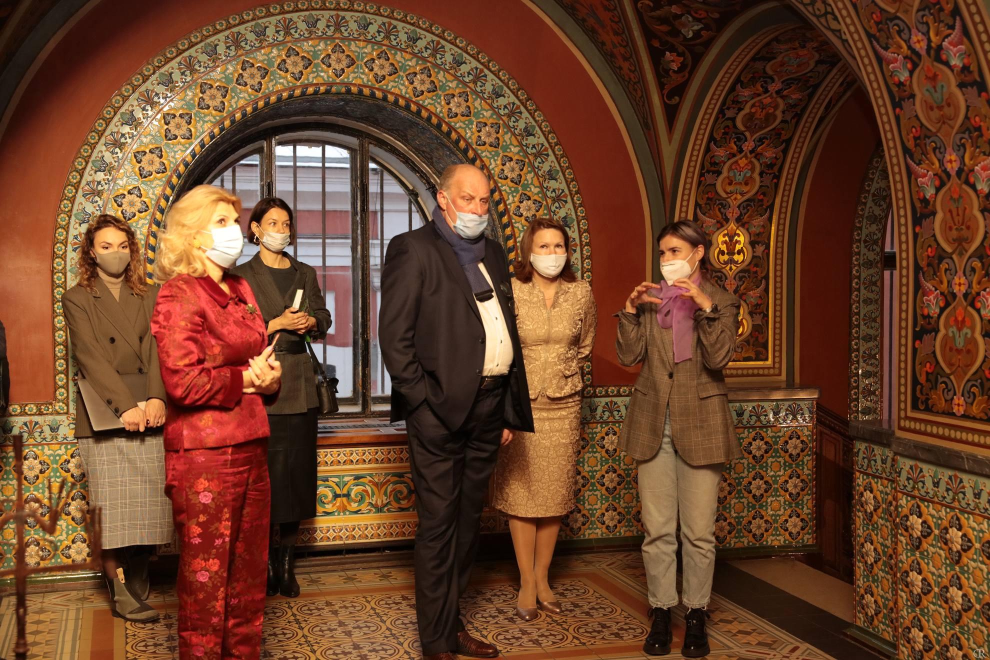 Визит председателя  Комитета по развитию туризма Санкт-Петербурга