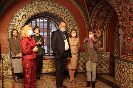 Visit of the Chairman of the Saint-Petersburg Committee for the Development of Tourism