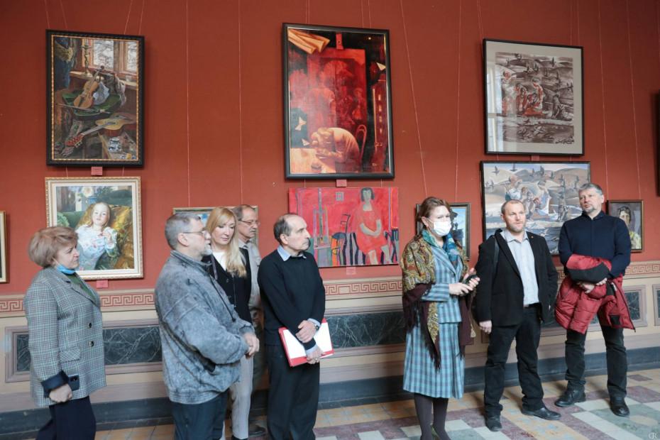 Межвузовская выставка «Рисунок как основа живописи»