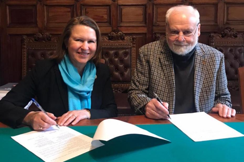 Подписан договор о сотрудничестве Академии Штиглица с Институтом истории материальной культуры Российской академии наук