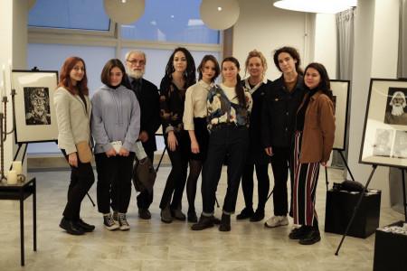 Студенты кафедры станковой и книжной графики приняли участие в проекте Recorder