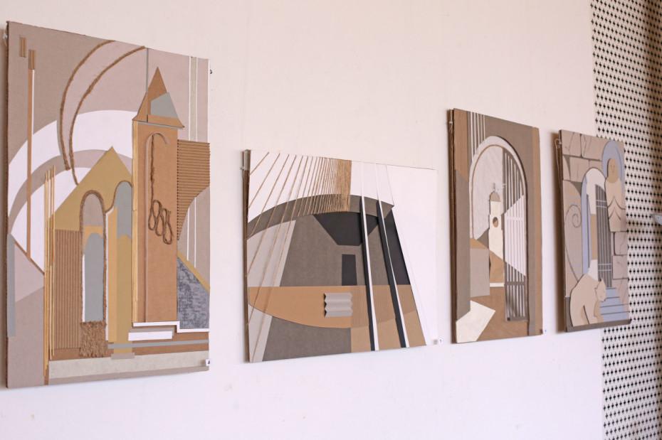 Открытие выставки «Выборг - линия, тень, фактура» в Библиотеке Алвара Аалто
