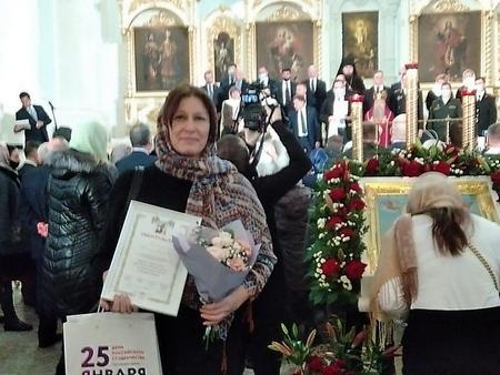 В Смольном соборе состоялось торжественное награждение Почетным знаком святой Татианы