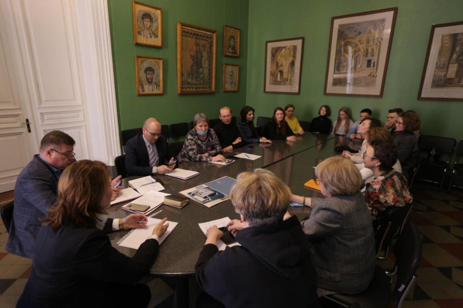 Состоялась встреча ректора и Студенческого Совета Академии Штиглица