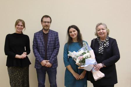 Выпускница кафедры искусствоведения Веста Васягина защитила кандидатскую диссертацию