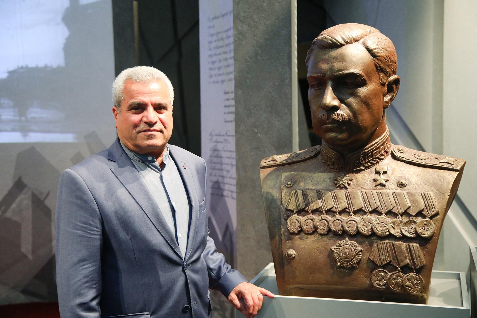 В Петербурге открыт памятник маршалу Леониду Говорову скульптора Лёвы Бейбутяна