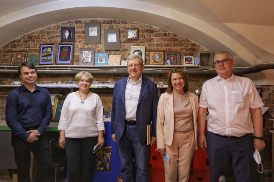 Академию Штиглица посетил Алексей Кудрин