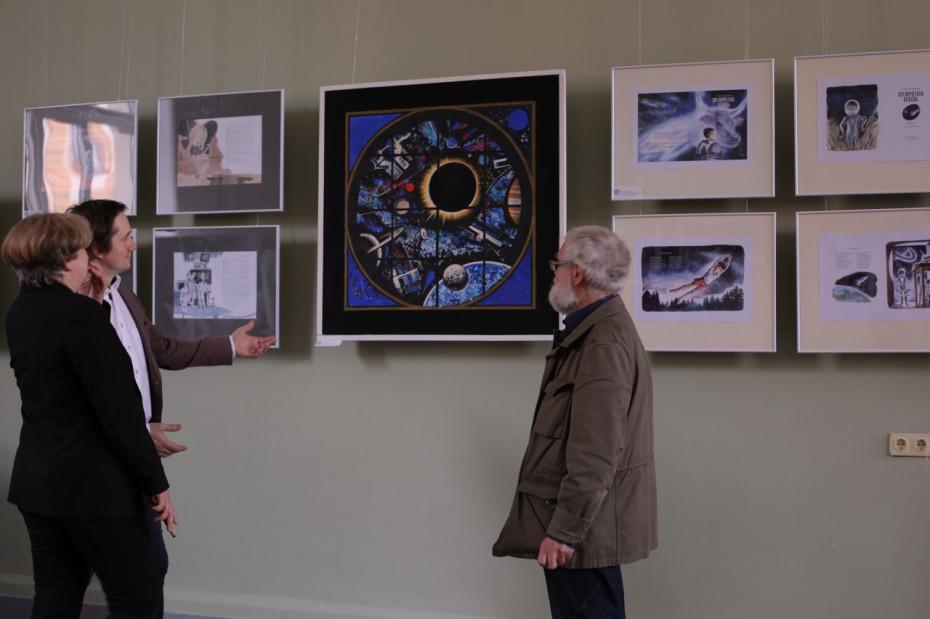 В Академии Штиглица открылась выставка «Просто космос»