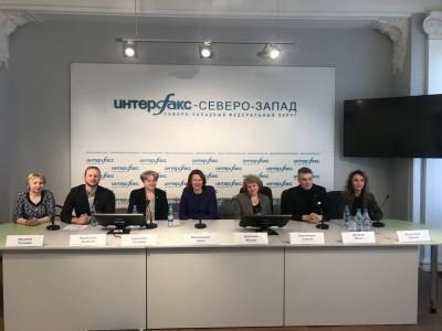 Пресс-конференция в пресс-центре информационного агентства «Интерфакс Северо-Запад»