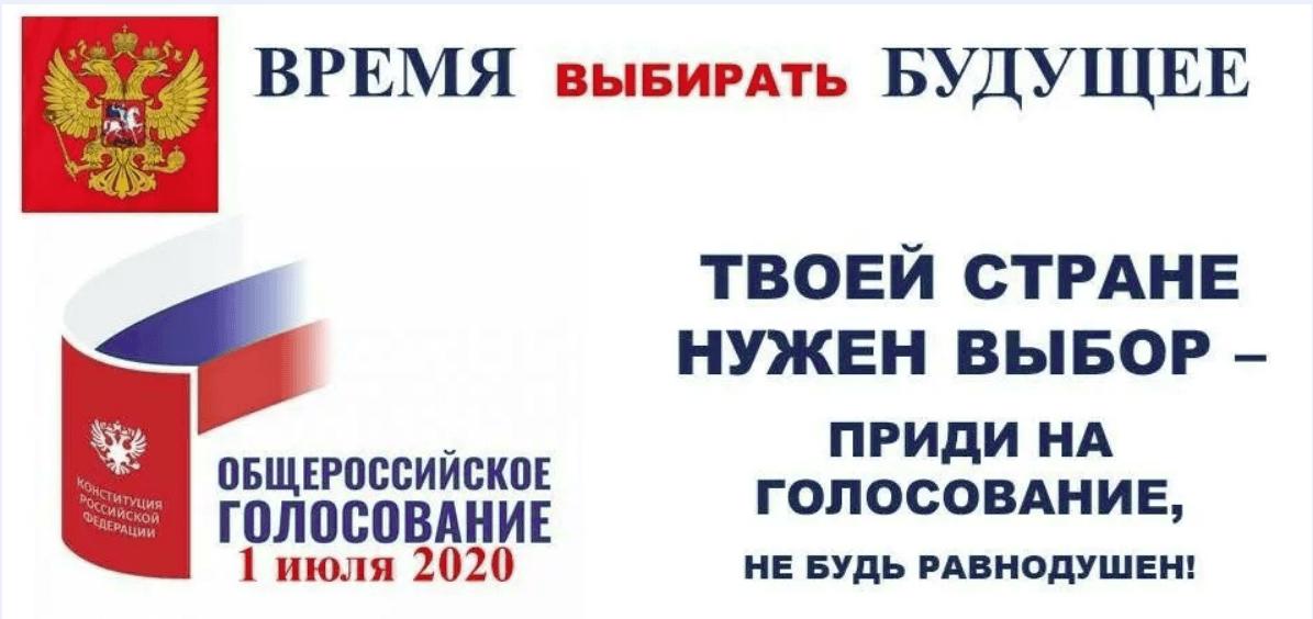 Голосование по Конституции 2020 года