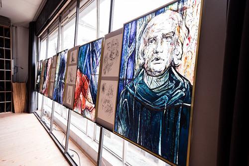 Выпускница Академии Штиглица создает витражи для старейшего монастыря Германии