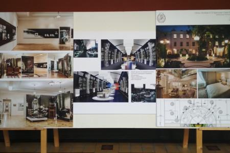 Выставка творческих и профессиональных работ к 65-летию кафедры интерьера и оборудования